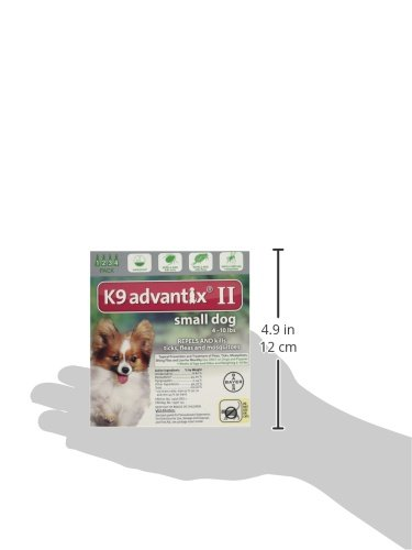 Bayer K9 Advantix Ii Fleatick And Mosquito Prevention For Small