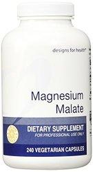 Designs for Health, Magnesium Malate 240 Capsules