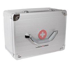 "Lockmed Large Double Combination Lockbox Size 12"" (L) X 9"" (W) X 6.5"" (H)"