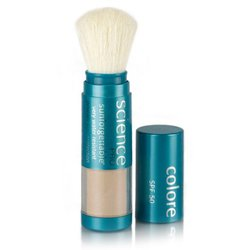 Colorescience Sunforgettable Mineral Powder Brush Spf 50 Matte - 0.21Oz.