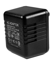 KJB Motion-Activated AC Adapter DVR with On Screen Options - Black