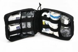 Elite First Aid Kit - Usaf Issue Ifak - Black
