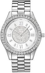 JBW Women's Analog Display Japanese Quartz Silver Watch (J6303A)