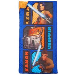 Star Wars Rebels Ezra Chopper and Kanan Slumberbag - Blue
