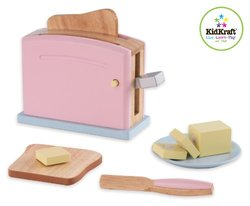 KidKraft Wooden New Toaster Set