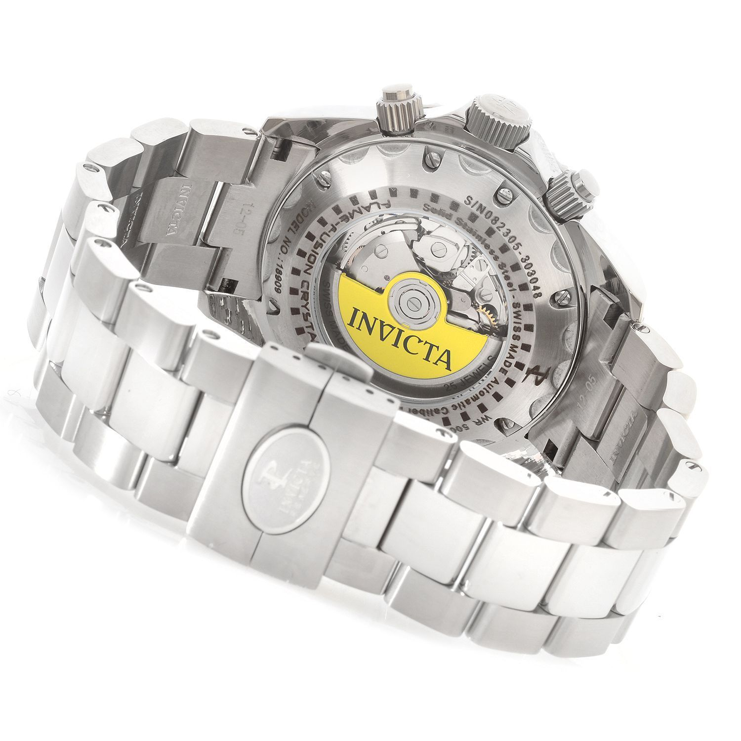 f24b1db0e Invicta Reserve Men's 47mm Pro Diver Swiss Valjoux 7750 Watch - Grey ...