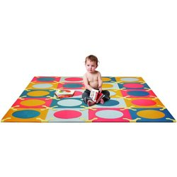 "Skip Hop 20-Piece 70x56"" PlaySpot Floor Mat Brights"