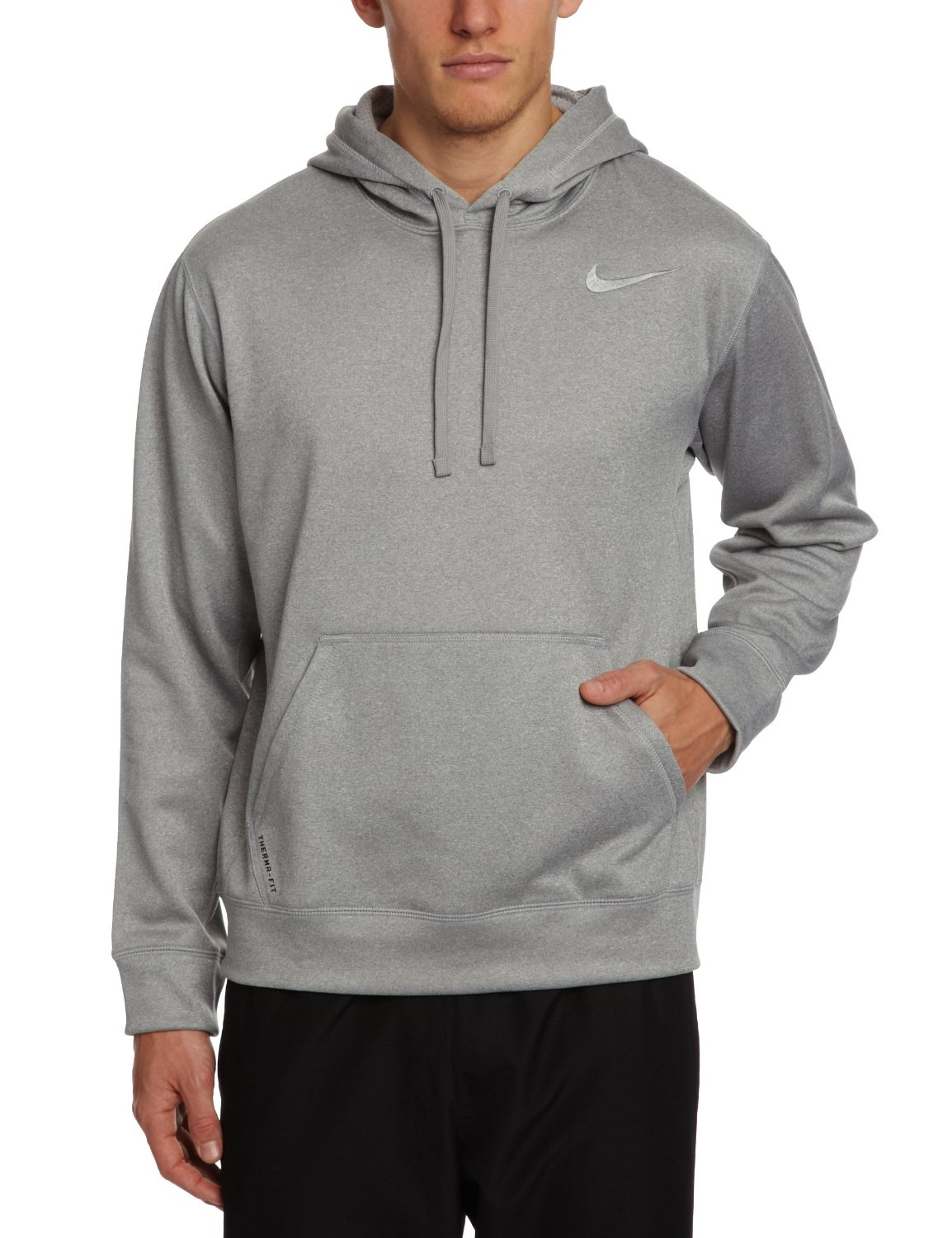 Nike Mens KO 2.0 Training Pullover Hoodie - Grey - Size: Small ...