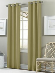 2-pack Textured Black Out Curtain: Sunlight