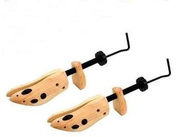 Shoe Stretchers Deluxe 2-Way width and length stretchers New 2014 Version with Metal Parts! 2pc Hansi Naturals - Select Your Size (Womans Large 9-11)