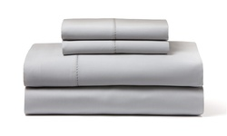 Wexley Home 1200TC Egyptian Cotton-Rich Sheet Set - Platinum - Size: King