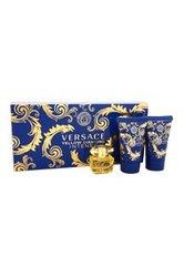 Versace Yellow Diamond Intense Mini Set with Eau De Parfum, Gel and Lotion