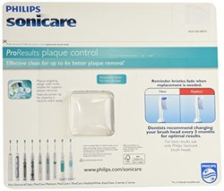Philips Replacement Proresults Plaque Control Brush Head Pack of 6