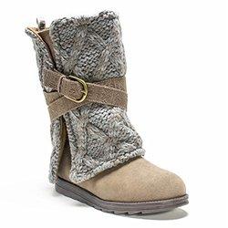 Muk Luks Women's Nikki Americana Boot - Taupe - Size: 9