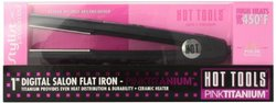 Hot Tools PINKTITANIUM Digital Salon Titanium Flat Iron