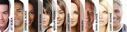 Hair Magic 100% Human Hair Fibers Instant Hair Volumizer- Dark Blonde