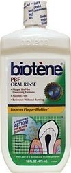 Biotene PBF Plaque Dissolving Mouthwash, 16-Ounce Bottles (Pack of 4)