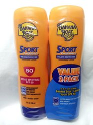 Banana Boat 2-Pack Sport Performance Broad Spectrum Sunscreen Lotion 8 fl.