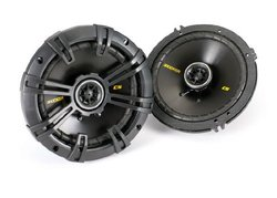 Kicker 40CS654 Pair of 6.5 300 Watt 4 Ohm Coaxial Speakers W/ Grills