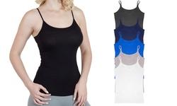 Women'S Agiato Basic Camisole - Pack Of 6