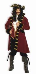 Forum Designer Deluxe Pirate Captain Costume, Multi, Medium