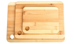 Wexley Home Bamboo Cutting Boards - Set of 3