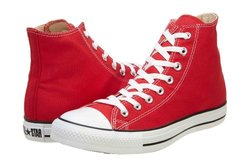 Converse Unisex's Chuck Taylor ALL STAR Shoes - Size:11 - Red