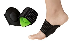 Extreme Fit Cushioned Plantar Fasciitis Foot Arch Supports - 2-Pack