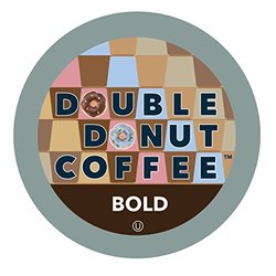 Double Donut Bold Blend Single Serve Coffee K-Cup - 12 Count