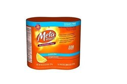Metamucil Sugar Free Orange Smooth - 46.6 oz Bottle (Pack of 2- 228 doses)
