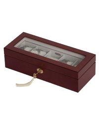 Chase Locking Glass Top Watch Box