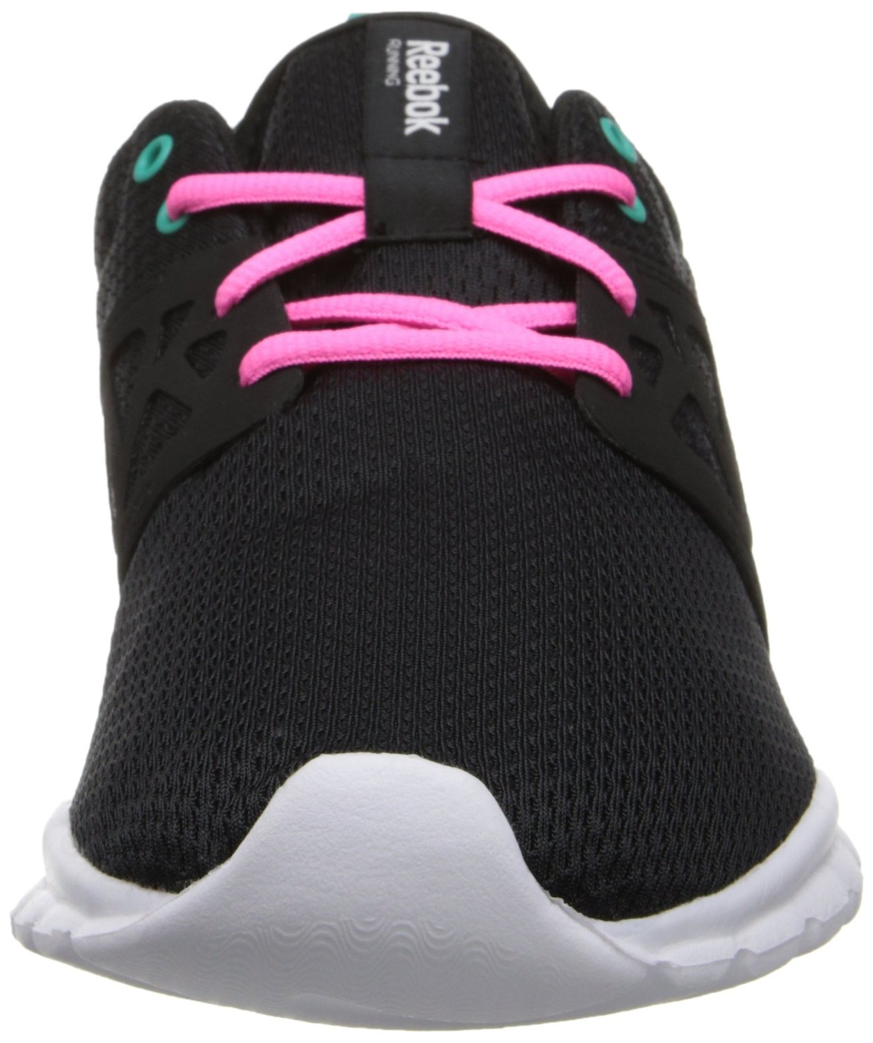 Reebok Women s Sublite Authentic Running Shoe - Black Pink - Size  9 ... ee4aab439