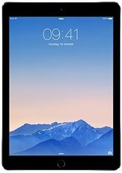 "Unlocked Apple iPad Air2 9.7"" Tablet 128GB Wi-Fi + Cellular- Space Gray (MH312LL/A)"