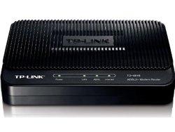 TP-LINK 24Mbps NAT firewall ADSL2+ Modem Router - Black(TD-8816)