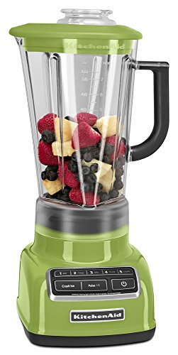 KitchenAid 5-Sd 60-oz. Diamond Blender - Green (KSB1575GA ... on vortex blender, breville bbl605xl hemisphere control blender, margaritaville blender, 25 diamond blender, nutribullet ninja blender, best smoothie blender, black diamond blender, vitamix 5200 blender, orange juice blender, cuisinart diamond blender, red blender, blendtec blender, kitchen blender, cuisinart hand blender, cobalt blue vitamix blender, color blender, oster blender, kenwood kmix hand blender,
