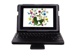 IVSO KeyBook Bluetooth Keyboard Case for Kindle Fire HDX 8.9""