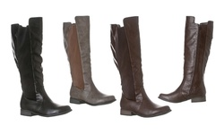 Riverberry Women's 'Emily' Knee-High Riding Boot - D Brown - Size: 8.6