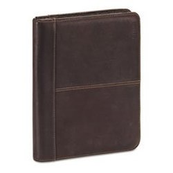 Solo Vintage Leather Padfolio Case for iPad All Gens - Black