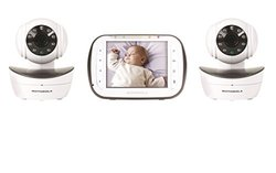 Motorola Wireless Digital Video Baby Monitor with 2 Cameras - MBP43S lcd