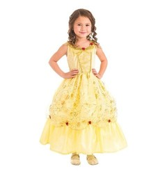 Little Adventures Belle Of The Ball Beauty Costume - Yellow - Extra Large