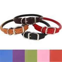 "Auburn Round Collar - Black - 1""x22"" - Fits 18""-22"""