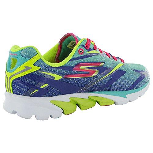 ... Skechers Go Run 4 - Women's Aqua/Purple ...