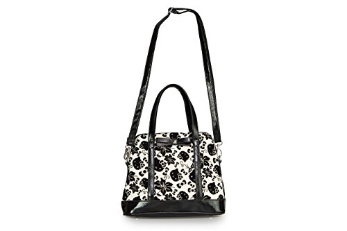 Loungefly Hello Kitty Black   Cream Floral Bag - Check Back Soon - BLINQ 45bc28c2166ae