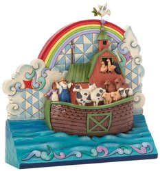 Jim Shore Heartwood Creek Noah's Ark Standing Plaque Figurine 4039476
