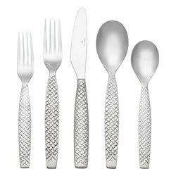 Reed & Barton 1482645000 Weave45-Piece Flatware Set