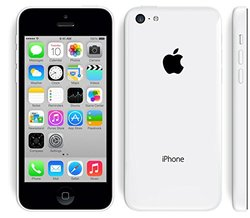 Unlocked Apple iPhone 5C 8GB Cellphone - White (5C)