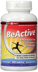 Health Direct BeActive Mussel Joint Care Supplement 60 Gelatin Capsules