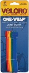 "Velcro Consumer Pdts 90346ACS Multi-Color Strap Velcro 1/2"" x 8"" Pk/5"