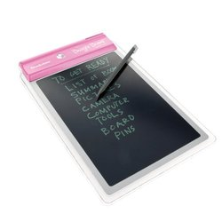 Boogie Board LCD Writing Tablet with Stylus Holder - Pink