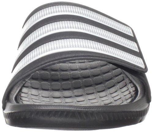 the best attitude 6038f 4b0a1 ... adidas Men s Alquo Vario Sandal - Black Metallic Silver - Size  14 D(  ...